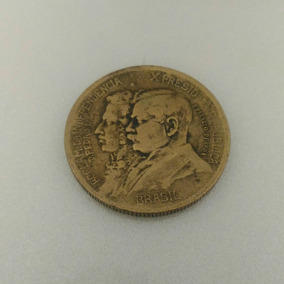 Moeda Comemorativa 1000 Reis, 7 De Setembro 1822-1922
