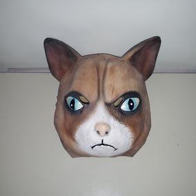 Mascara De Gato Halloween Disfraz