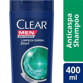 Shampoo Anticaspa Clear Men 2 Em 1 Limpeza Diaroa 400ml