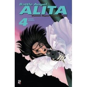 Battle Angel Alita - Coleção Completa Em 4 Volumes !!