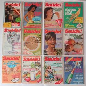 Revistas Antigas Saúde Ano Completo De 1985 - Frete Grátis