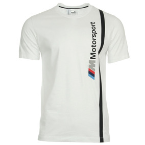 0eddf92fdeb11 Camiseta Bmw Motorsport Logo Branco Original