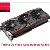 Tarjeta De Video Asus Radeon Rx 580 (intercambio En Tacna)