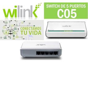 Switch Wilink 5 Puertos C05 Ceotech
