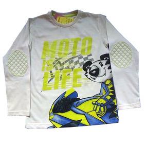 Camiseta Tigor Manga Longa - Calçados 810ba28970cbe