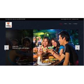 Site Para Pizzaria, Restaurantes E Fastfood, Código Fonte.