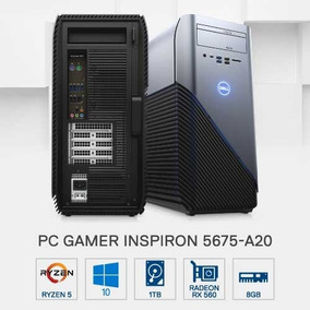 Pc Gamer Dell 5675-a20 Amd R5 8gb 1tb Rx560 2gb W10