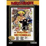 Dvd Mazzaropi - No Paraíso Das Solteironas /original Lacrado