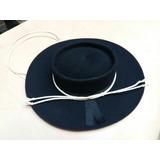 Sombrero Paño Gaucho Con Toquilla Y Barbijo 3c01911d014