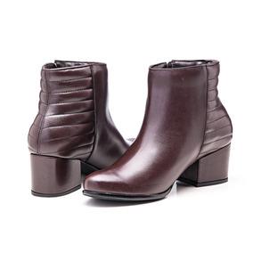 1f175fc946 Botas Baixas Salto Femininas - Sapatos no Mercado Livre Brasil