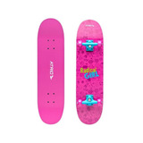 Skate Infantil Feminino Rosa E Roxo Es146 - Atrio
