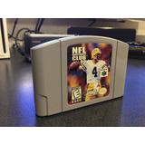 Nfl Quarterback Club 99 Para Nintendo 64 En Excelente Estado