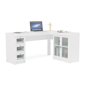 Mesa De Pc Makenna 1177 España Blanco