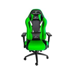 Silla Gamer Dragster Gt600 Verde Negro Proglobal