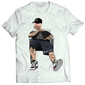 6e4368c6df501 Camisa Camiseta Damassaclan Rap Thug Life Poderoso Chefão