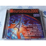 Cd Eurodisco 2000 2 Cds Vengaboys,ann Lee,technotronic......