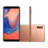 Smartphone Samsung Galaxy A7 64gb Cobre 4g - 4gb Ram Tela 6