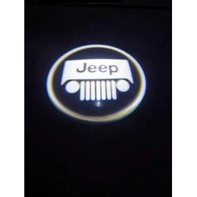 Projetor Logo Jeep A Pilha P/4 Portas +frete