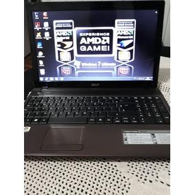 Notebook Acer 5750z, Hd 320, Memoria 4gb, Tela 15,6, Amd