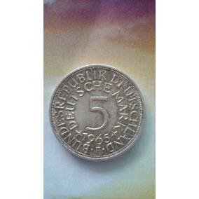 5 Deutsche Mark F 1965..