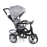 Triciclo Infantil Bebe Asiento Gira 360 Manija Canasto Cuota