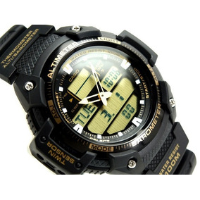 8e750d72ca0 Relogio Casio Com Altimetro E Barometro Termometro - Relógios no ...