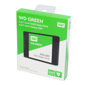 Ssd 240gb Wd Green Leitura 540mb/s Sata 3 2,5 6gb/s