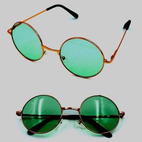 Óculos Redondo Verde Hippie - Óculos no Mercado Livre Brasil 666b126c5d