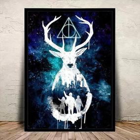 Poster Quadro Harry Potter Moldura E Vidro 45x35cm #5