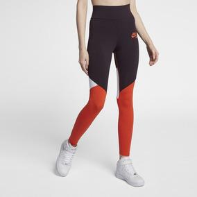 d572b3991e Calça Legging Nike Tight Fit Marom Laranja Feminina G-ah7634