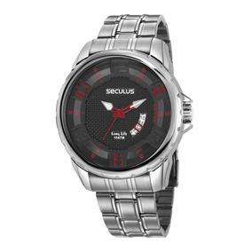 Relógio Seculus Masculino 28997gosvna2