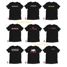 Remeras Rogue Crossfit Gym Fitness Training - Algodón Prem.