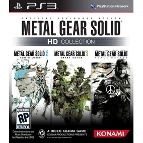 Jogo Metal Gear Solid Hd Collection Ps3 Novo Lacrado Física
