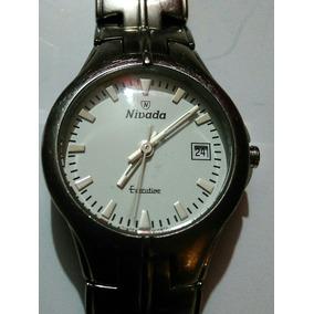 Reloj Nivada Cuarzo Acero Executive