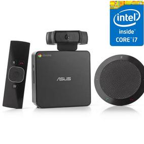 Asus Chromebox Cn 62 Mini Computador 4gb I7 Para Reuniões