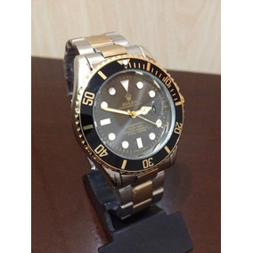 Relogio Masculino Rolex Sub -mariner Envio 24 H Gold Black
