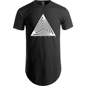 256d4d381a Camiseta Longline Oversized Camisa Swag Clothing Co. 3 cores. R  39 90
