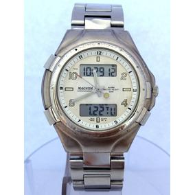 0e9fef6dd29 Relogio Magnum 510am Mg 11415 - Relógios De Pulso no Mercado Livre ...