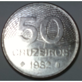 Moeda De 50 Cruzeiros