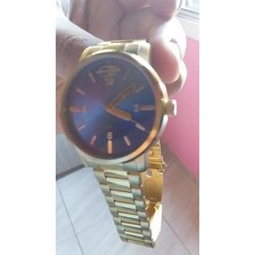 c17cd05eb9d Relogio Mormaii Ouro - Relógios no Mercado Livre Brasil