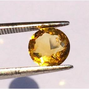 Piedra Preciosa Destellante Topacio Oro Sri Lanka Amuleto
