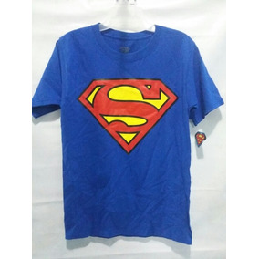 Playera Superman Dc Comics Oroginal