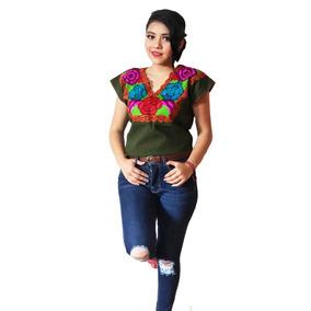 24 Blusas Bordadas En Chiapas - Medianas