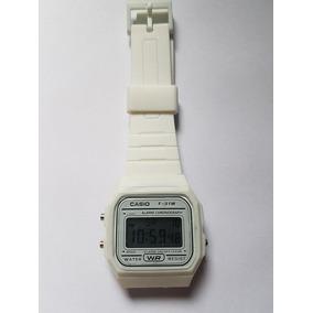 2606b4e5d50 Borracha Em U Branca Feminino - Relógio Casio no Mercado Livre Brasil