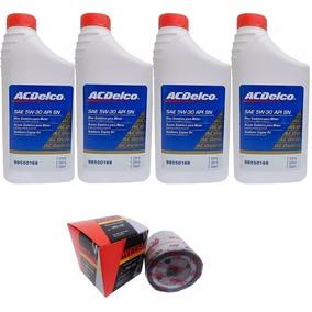 4 Litros Óleo Para Motor 5w30 Sintético Acdelco Com Filtro