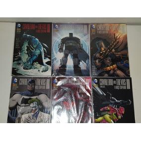 Coleção Hqs Batman Cavaleiro Das Trevas Iii Panini