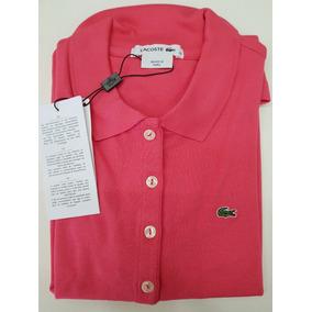 5eba384f3e850 Camisa Polo Lacoste Feminina Original C  Nf - Promoção