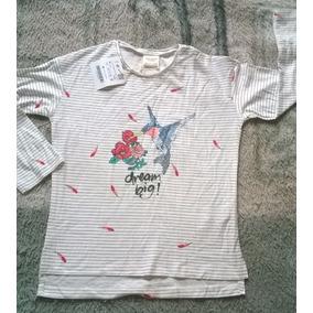 Camisa Infantil Zara Branca Tamanho - Camisas no Mercado Livre Brasil 7543b1977965e