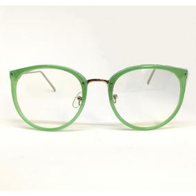 Óculos Redondo Armação Cromada Com - Óculos no Mercado Livre Brasil c1565b2f76