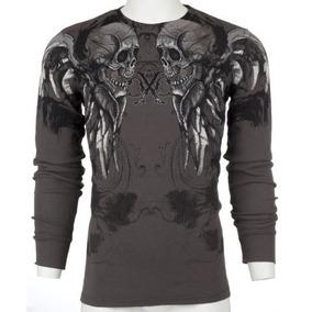 f3d658dd92 Camiseta Xtreme Couture Affliction Termal Manga Longa Ufc
